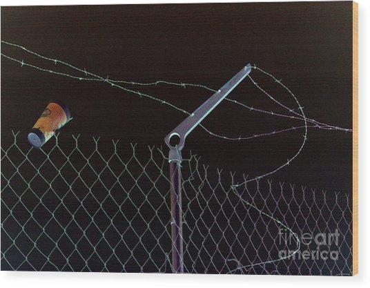 Caffeinated Jail Break Wood Print by Joe Jake Pratt
