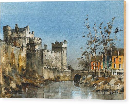 Cahir Castle  Tipperary Wood Print