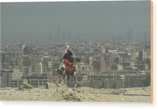 Cairo Egypt Wood Print