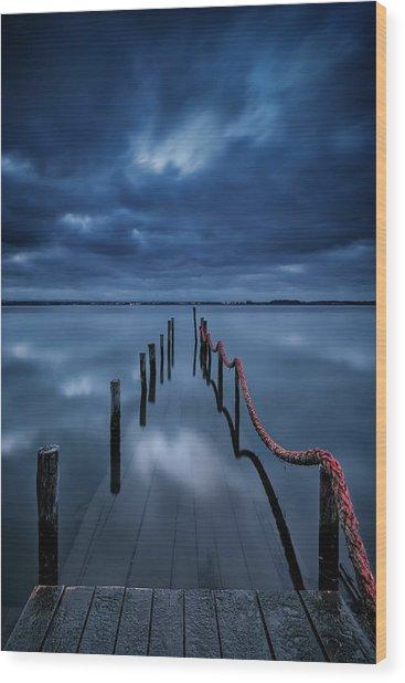 Cais Wood Print