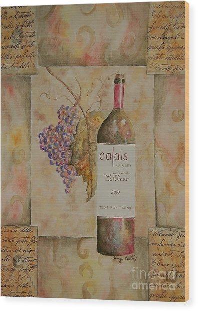 Calais Vineyard Wood Print