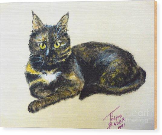 Fifi Girl Wood Print