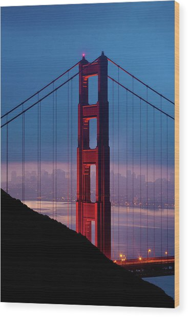 California A Top Global Tourist Wood Print by George Rose