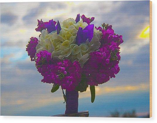 California Bouquet Wood Print