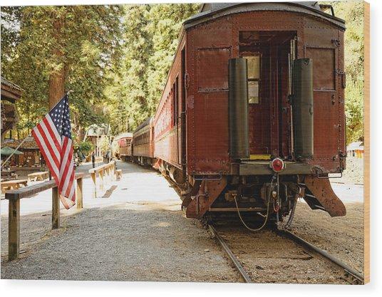 California Western Railroad Wood Print