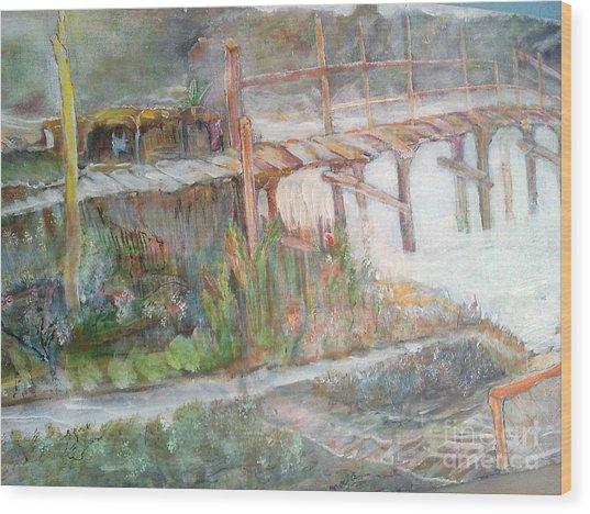 Call Of The Bridge Wood Print