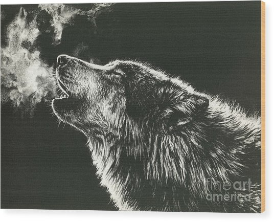 Call Of The Wild Wood Print by Beth Hoselton