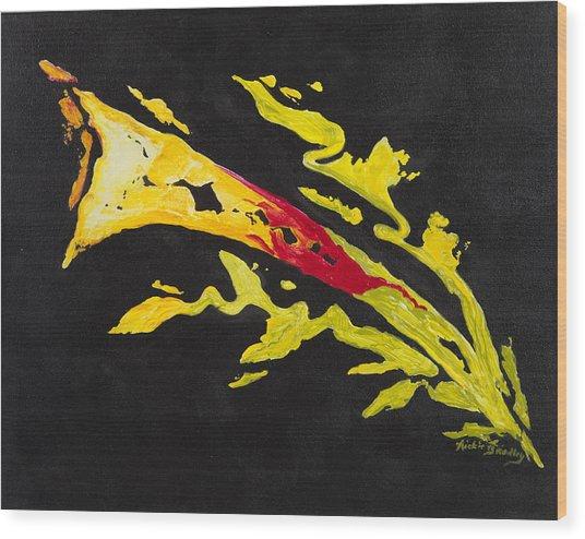 Calla  Wood Print by Nickie Bradley