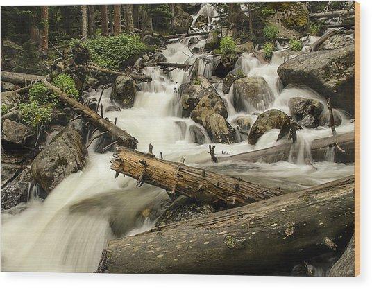 Calypso Cascades Wood Print