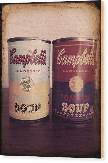 Campbells Redux 2 Wood Print