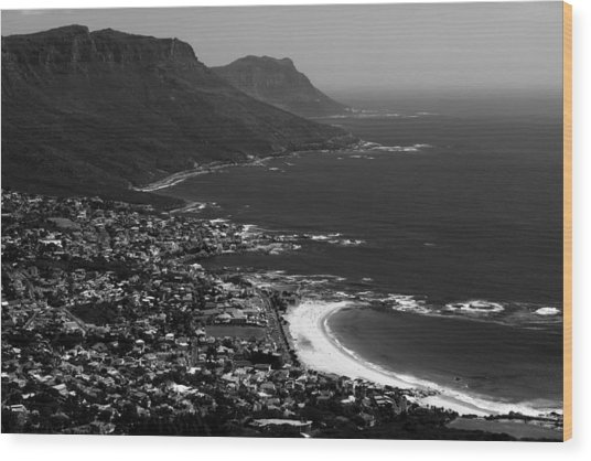 Camps Bay Cape Town Wood Print
