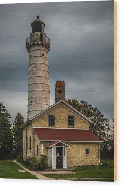 Cana Island Lighthouse By Paul Freidlund Wood Print