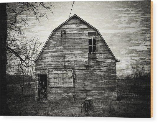 Canadian Barn Wood Print