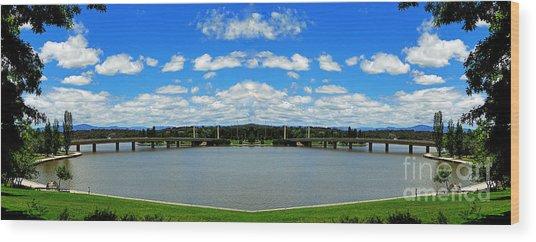 Canberra 9 Wood Print
