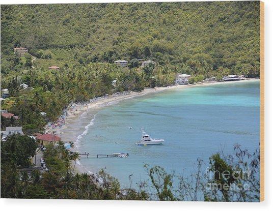 Cane Garden Bay Tortola Wood Print