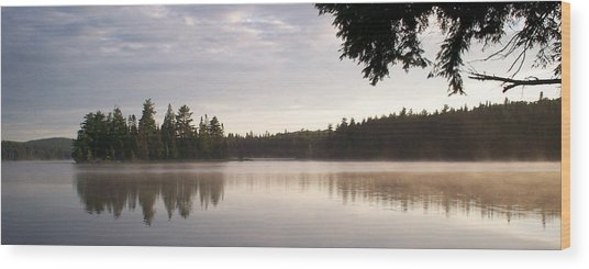 Canisbay Lake - Panorama Wood Print