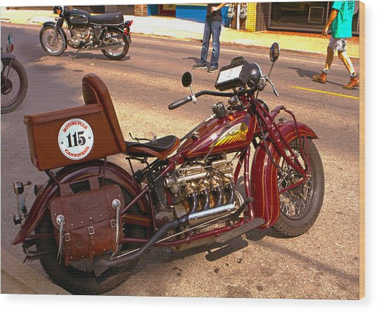 Cannonball Indian #115 Wood Print