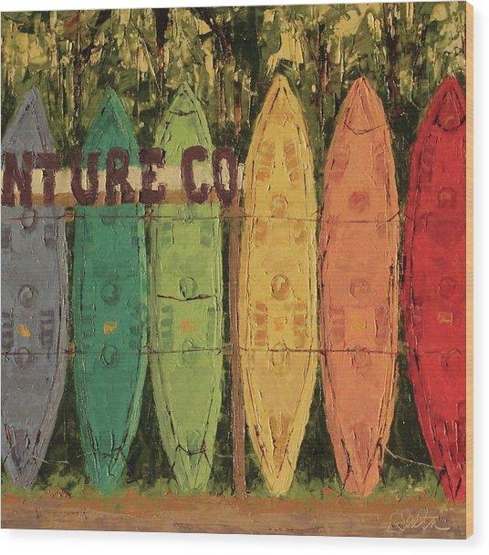 Canos Of Sandbridge Wood Print