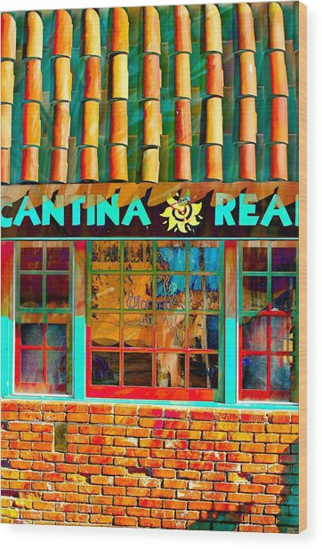 Cantina Real Gone Wood Print
