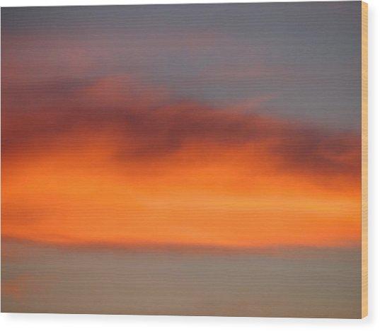 Canvas Sky Wood Print