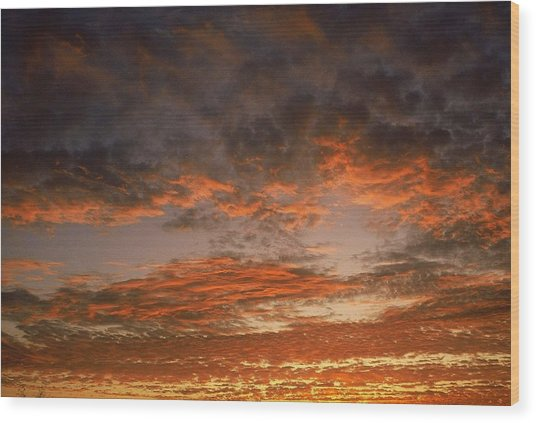 Canvas Sky Wood Print