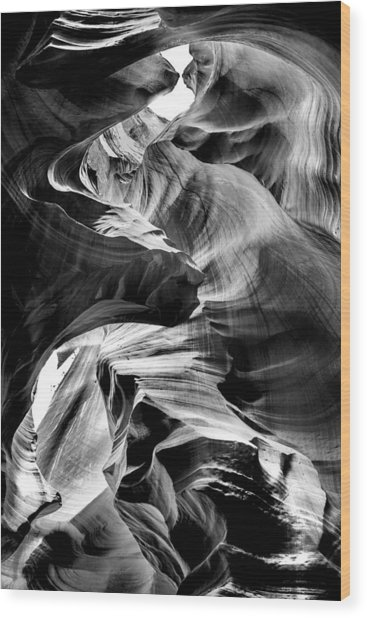 Canyon Flow Wood Print