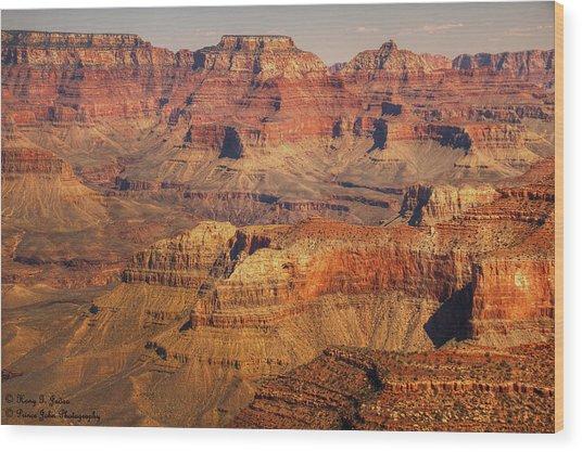 Canyon Grandeur 2 Wood Print