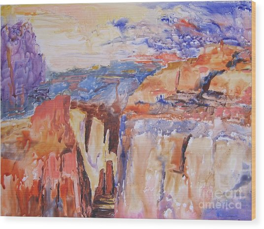 Canyon Suite Wood Print