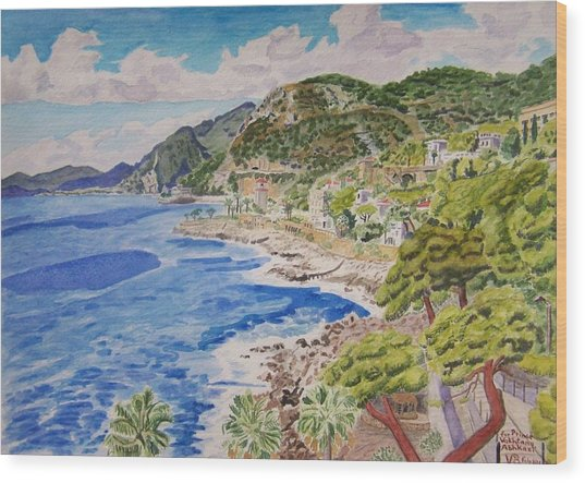 Cap D'ail For Prince Abkhazi Wood Print