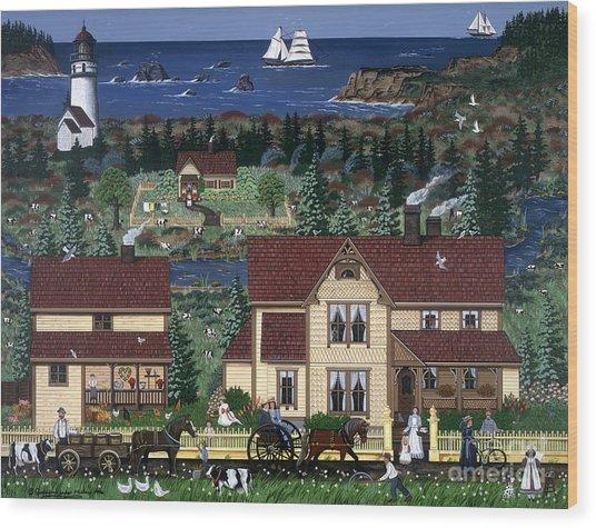 Cape Blanco Wood Print