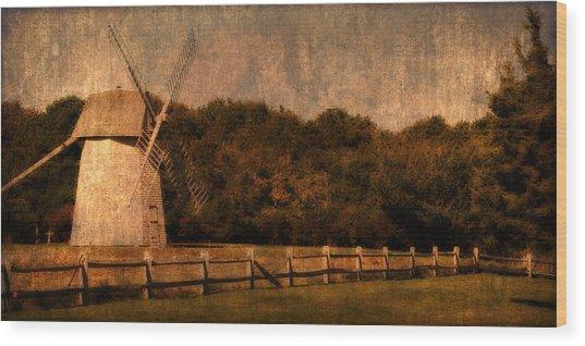 Cape Cod Windmill Wood Print