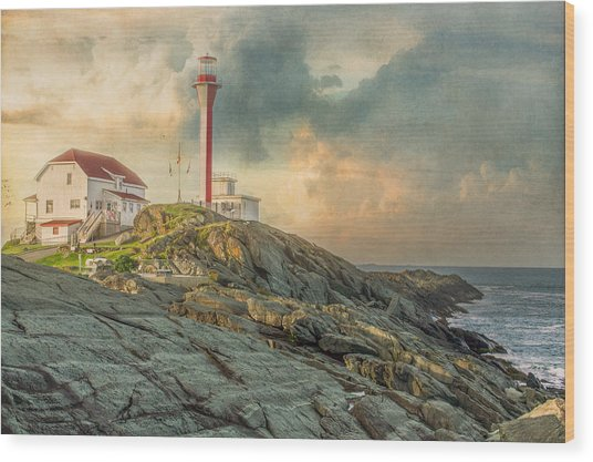 Cape Forchu  Wood Print