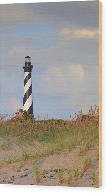 Cape Hatteras Wood Print