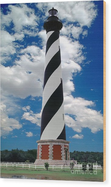 Cape Hatteras Light Station Wood Print
