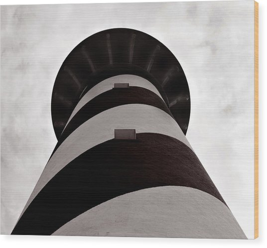 Cape Hatteras Lighthouse Wood Print