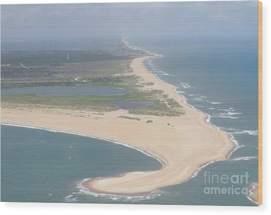 Cape Hatteras The Postcard Wood Print