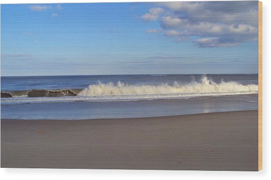 Cape Henlopen 10 Wood Print by Cynthia Harvey