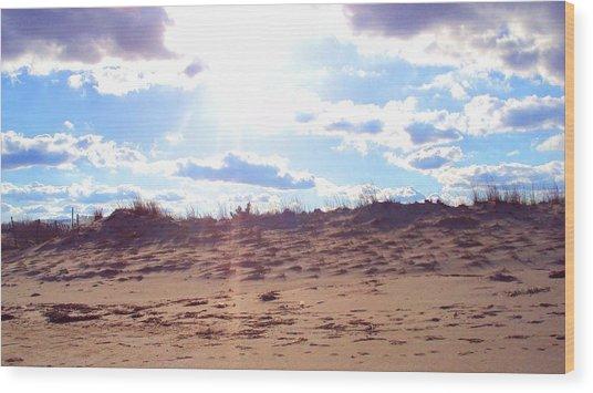 Cape Henlopen 11 Wood Print by Cynthia Harvey