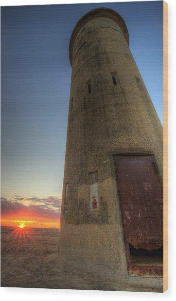 Cape Henlopen Tower Wood Print