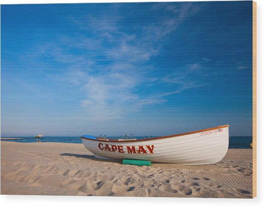 Cape May Wood Print