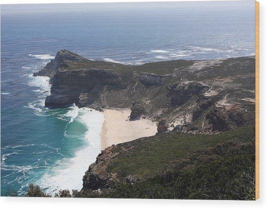 Cape Of Good Hope Coastline - South Africa Wood Print