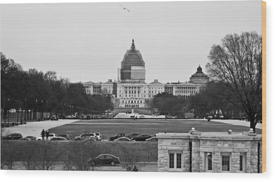 Capitol View 2 Wood Print