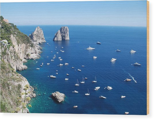 Capri  Wood Print