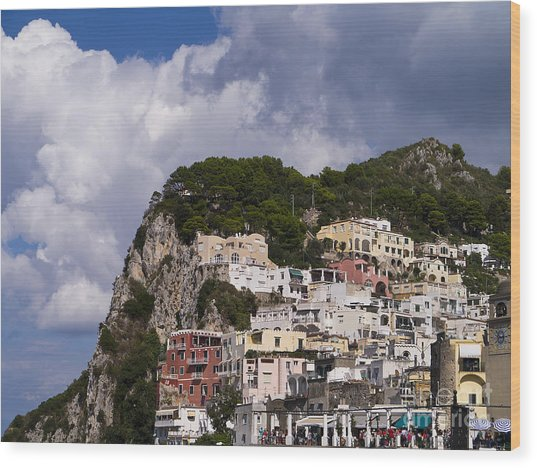 Capri Magic Wood Print