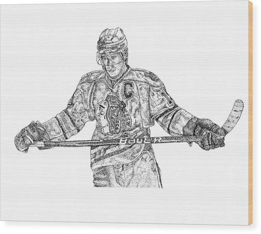 Captain Wood Print by Joe Rozek
