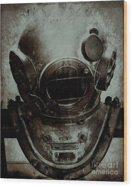 Captain Nemo Wood Print by Sharon Kalstek-Coty