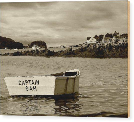 Captain Sam Wood Print