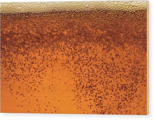 Carbonated Soft Drink Wood Print