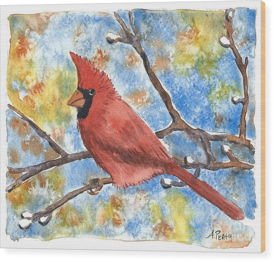 Cardinal Rule Wood Print