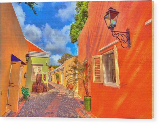 Caribbean Dream Wood Print